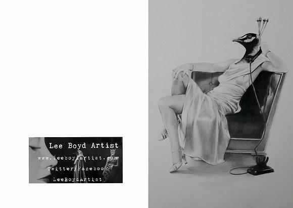 Femme Fatal Art Card