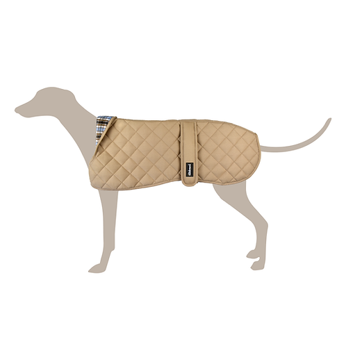 Padded Winter Coat ▸ Beige