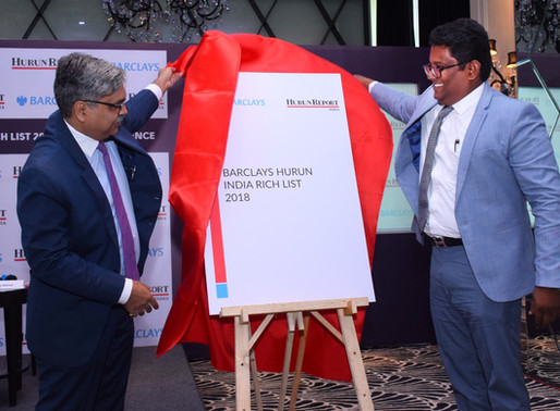 Barclays Hurun India Rich List 2018