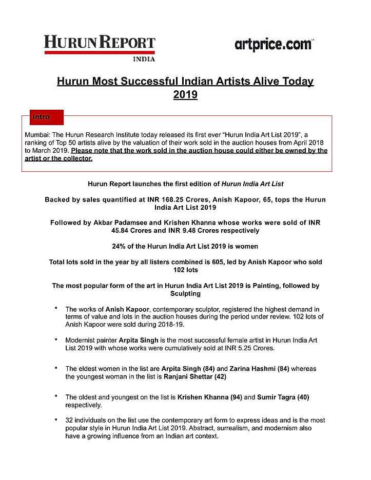pressrelease_Hurun Indian Art List-1-01.