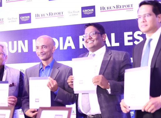 GROHE Hurun India Real Estate Rich List 2017