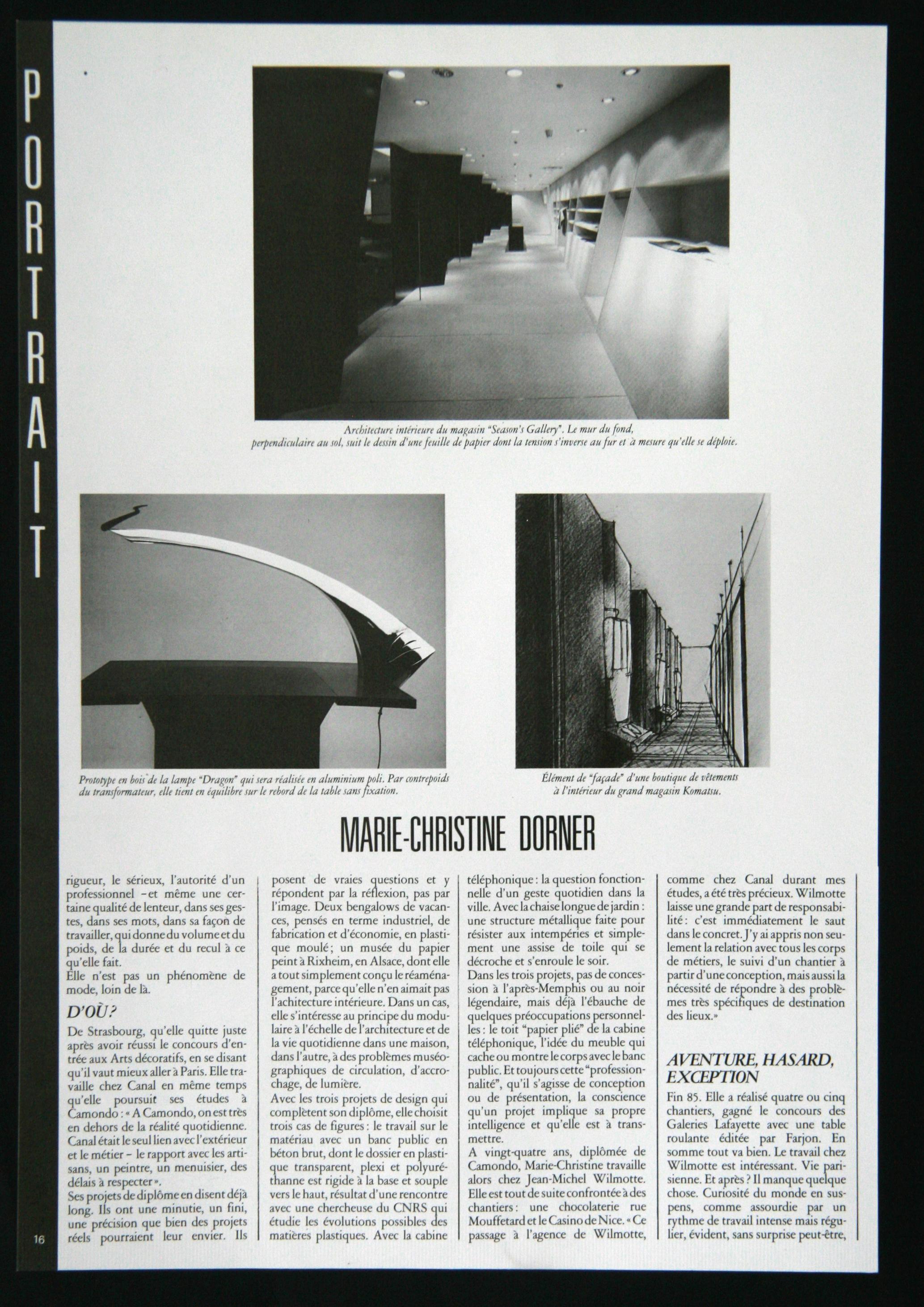 1987 En Dorner Design