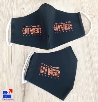 Mondmaskers voor Taverne De Uiver