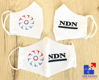 Mondmaskers voor NDN bv