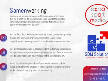 Samenwerking Expo Sport Media