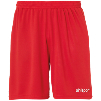Center Basic Shorts Rood