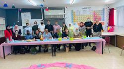 מפגש מסכם קורס יזמות חינוכית בבי״ס חטב אלהוזייל רהט اختتام دورة مبادرات تربوية بمدرسة الهزيل الاعداي