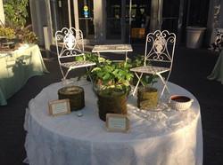 Garden Themed Wedding Event