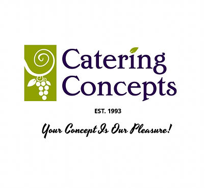Catering Concepts, Inc. Logo and Tagline
