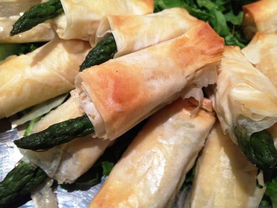 Asparagus with Phyllo.JPG