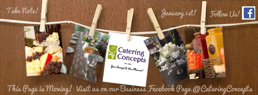 Be Social With Catering Concepts, Inc.!