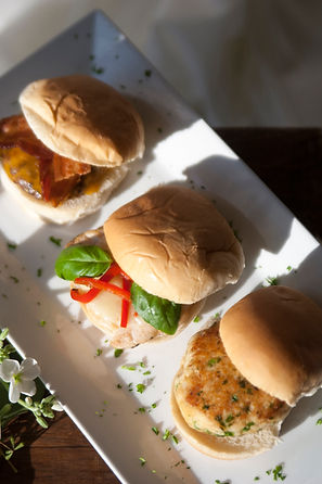Mini Sliders by Catering Concepts, Inc.