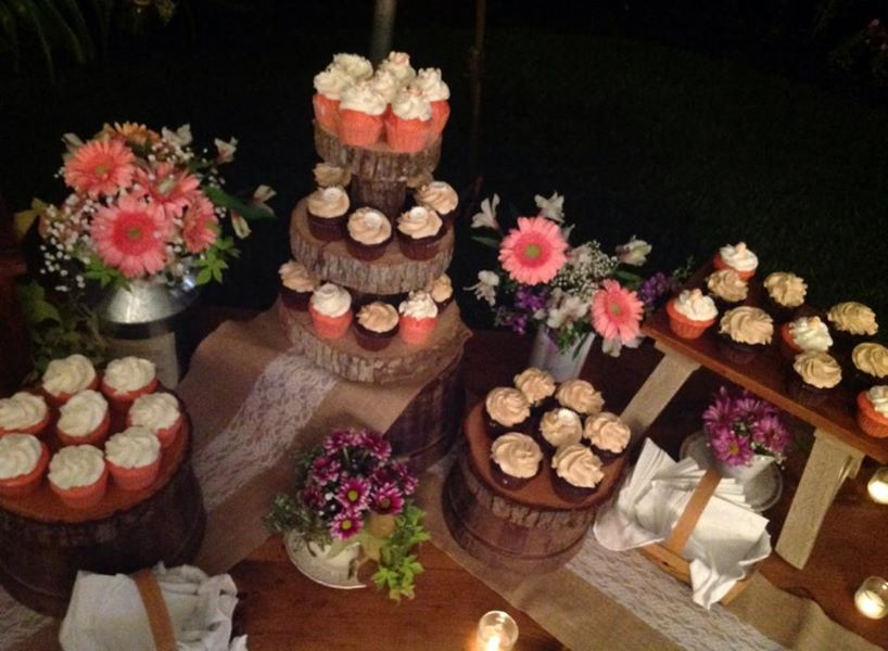 Cupcake Bar Wedding