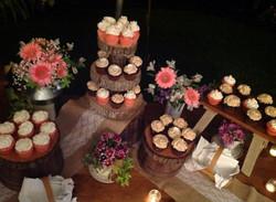 Cupcake Bar Wedding