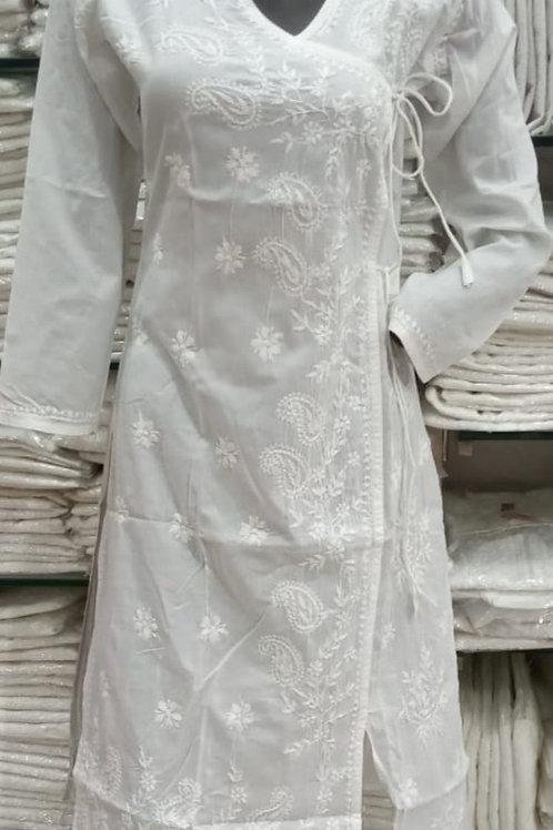Angrakha Cotton Kurti