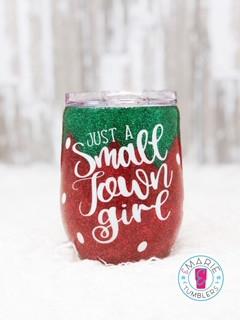 Custom fine glitter strawberry