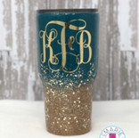 Fine glitter with chunky mix