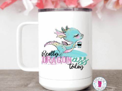 Dragon *ss mug
