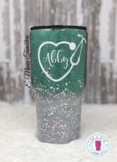 Custom fine glitter with chunky mix