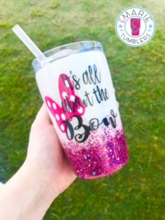 Fine glitter with chunky mixes