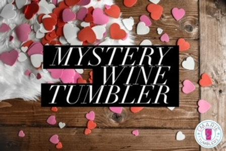 Valentine mystery wine tumbler