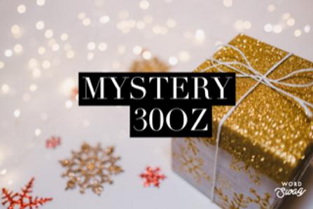 Holiday themed MYSTERY 30oz tumbler