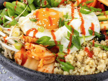Korean Quinoa Bibimbap