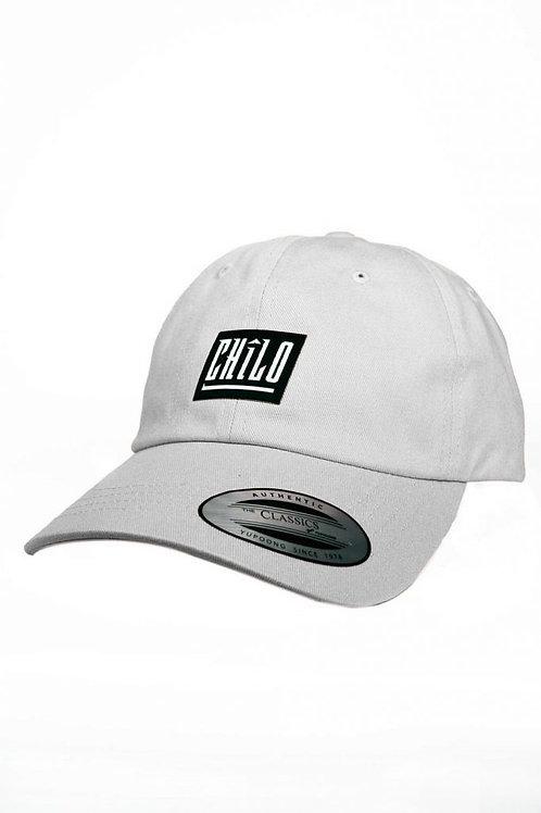 White Chilo Dad Hat