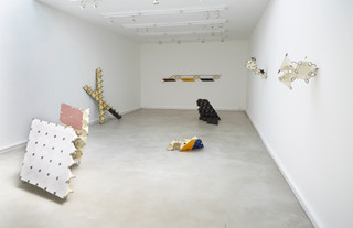 Straight Finish Exhibition Installation April, 2018  Venice, California
