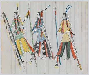 Matches Ledger BookLedger Drawings + Richard Nonas Installation View