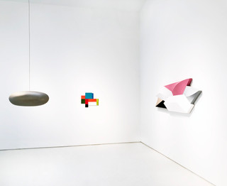 Paint Shape Form, Installation View 5 Left to Right: Jene Highstein, Charles Arnoldi, Charles Hinman