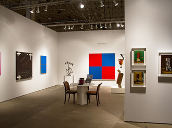 Hill Gallery exhibiting at EXPO Chicago 2015, Booth 210.