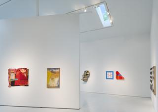 McArthur Binion Curates in Detroit Exhibition Installation