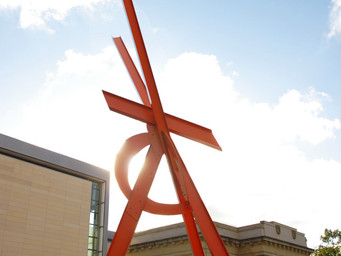 """Orion"" by Mark di Suvero"