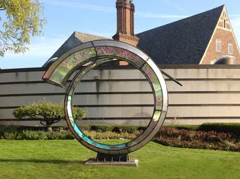 Dennis Oppenheim installation