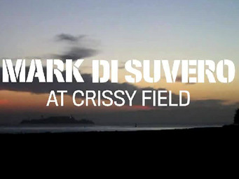 Mark di Suvero's installation at Crissy Field