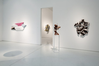 Paint Shape Form, Installation View 1 Left to Right: Charles Hinman, Allie McGhee, Mel Kendrick
