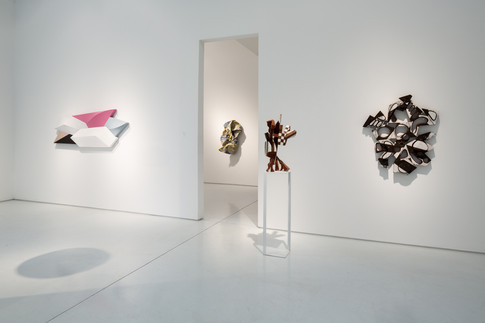 Paint Shape Form, Installation View 1