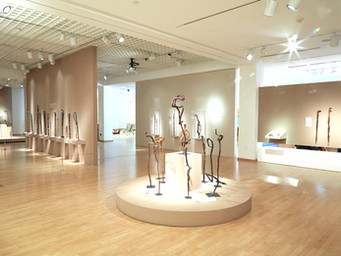 The Hill Walking Stick Exhibition at The Mingei International Museum in San Diego, Ca.