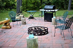 the grilling terrace