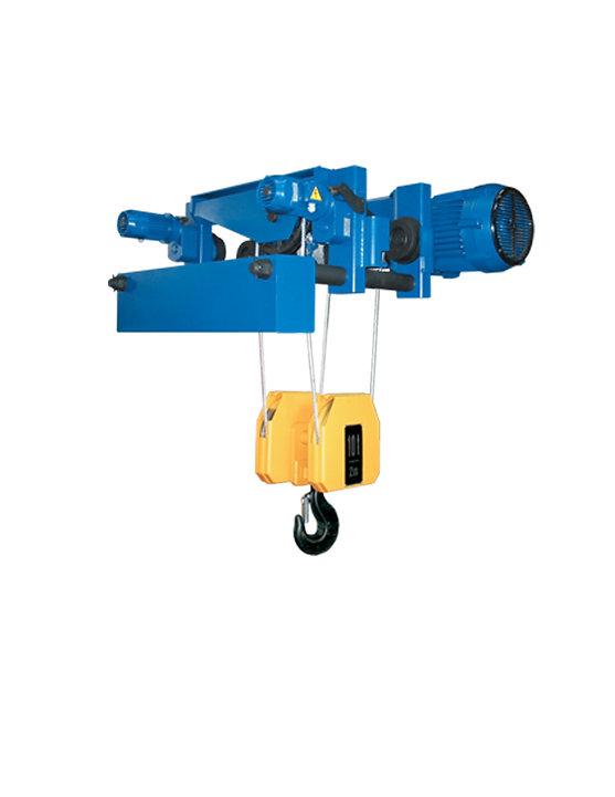 heavy duty wire rope hoist, rope hoist, wire rope hoist, low headroom wire rope hoist