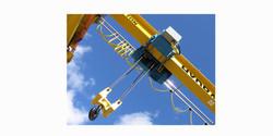 5 tonne low headroom outdoor crane
