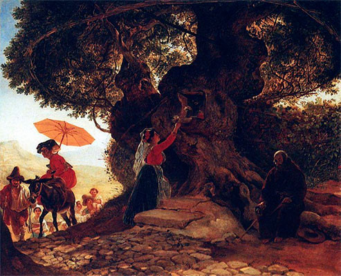 У Богородицкого дуба.