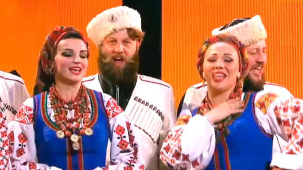 """Концерт """"Казаки Российской империи""""."""