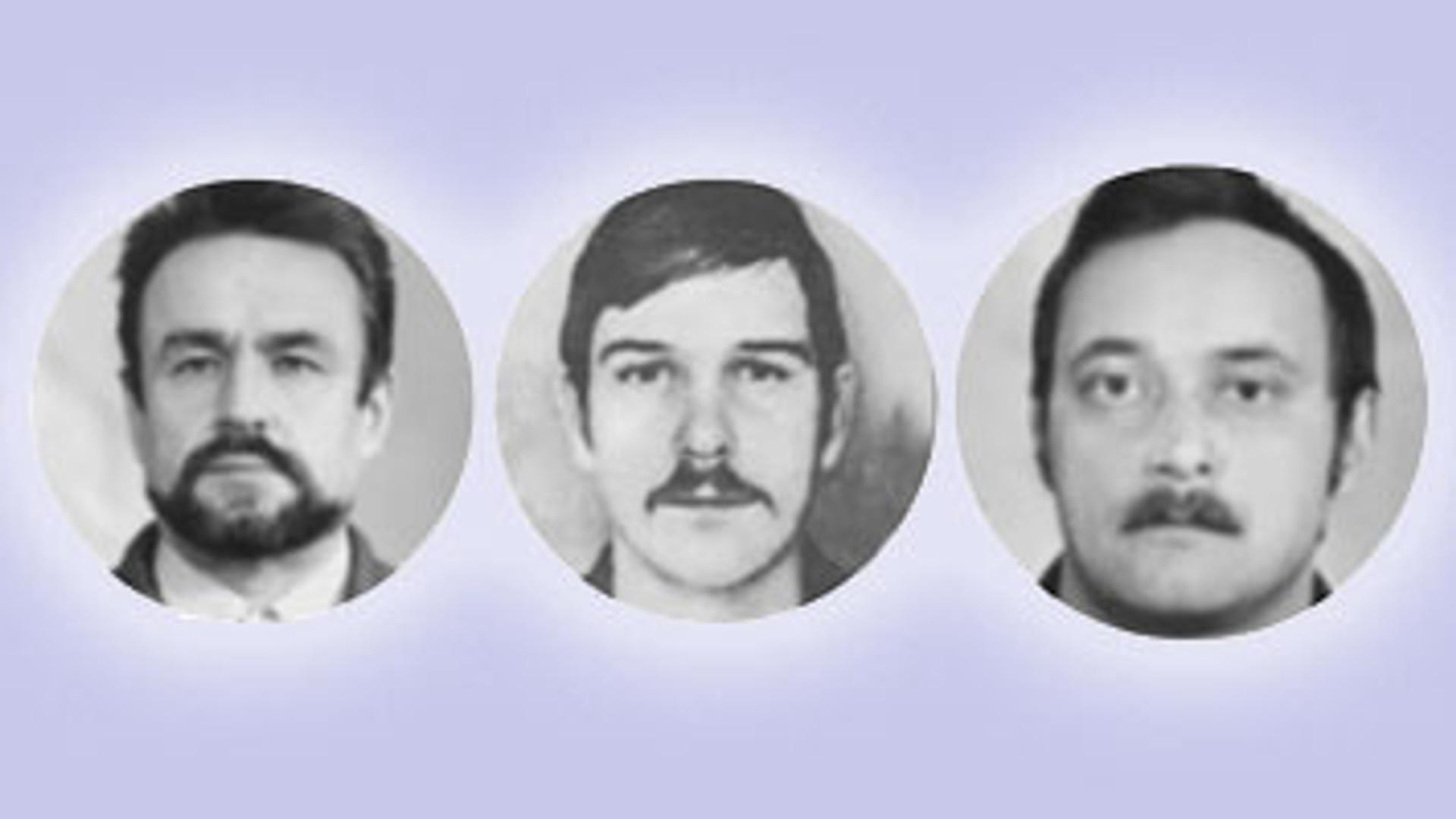 Герои Чернобыля: Баранов, Беспалов, Ананенко.