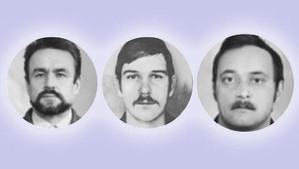 Héros de Tchernobyl : Baranov, Bespalov, Ananenko.