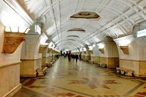 Московское метро. Станция БЕЛОРУССКАЯ