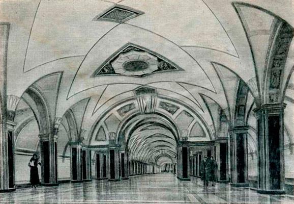 Первоначальный проект 1935 года.