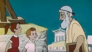 Коля, Оля и Архимед.