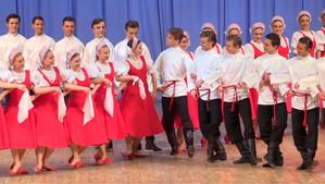 """Русский танец """"Лето""""."""